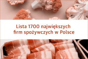 Znamy największe firmy FMCG w Polsce