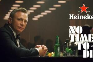 Daniel Craig w reklamie Heinekena