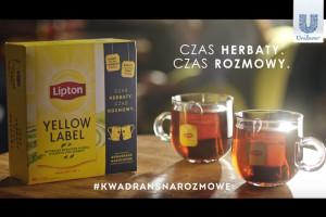 Lipton w nowej kampanii zachęca do rozmów przy herbacie