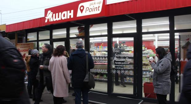 Auchan otworzył na Ukrainie punkt odbioru zamówień