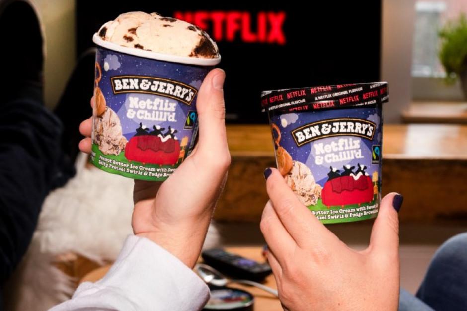 Ben & Jerry's wprowadza lody o smaku... Netfliksa