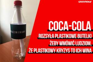Coca-Cola nie zamierza wycofać się z plastiku,