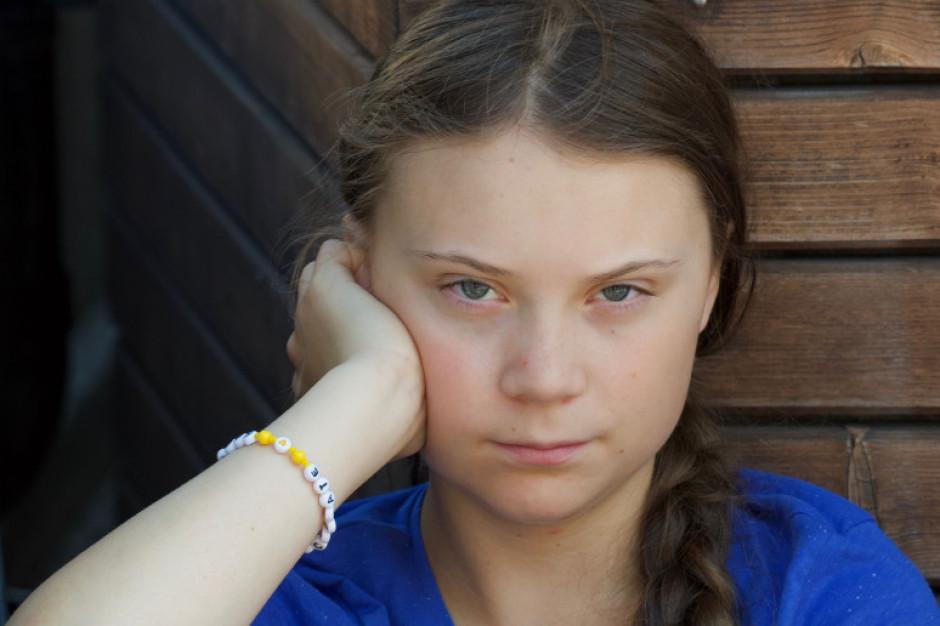 Greta Thunberg z własnym znakiem towarowym