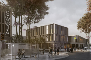 Womak wybuduje galerię Swoja Olimpia. Lidl operatorem spożywczym