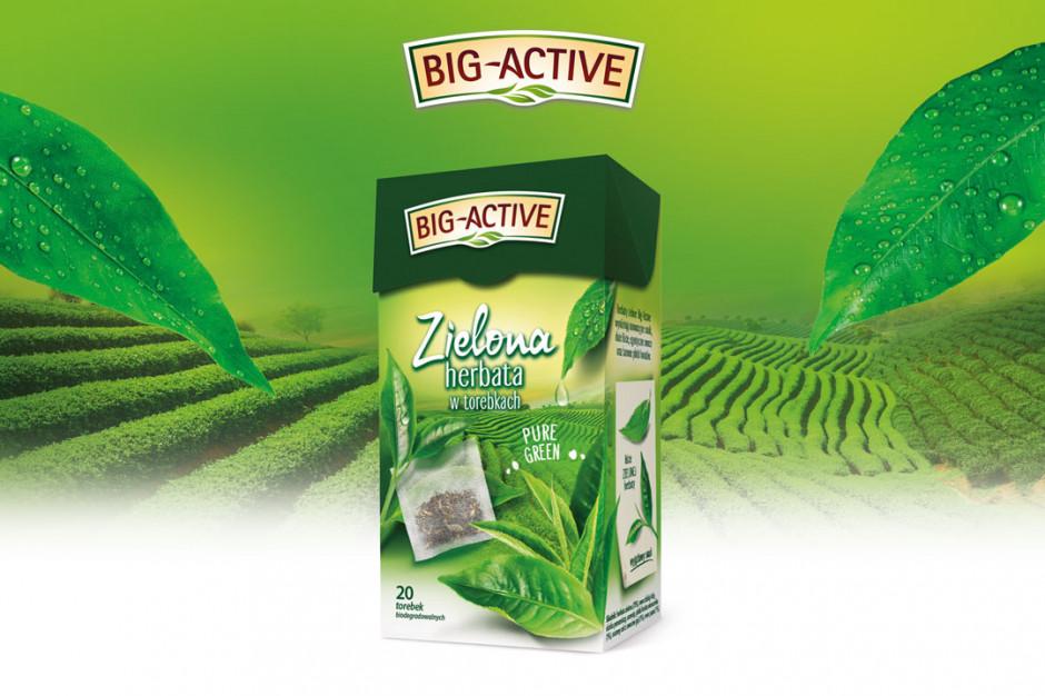 Herbata zielona Pure Green od Big-Active