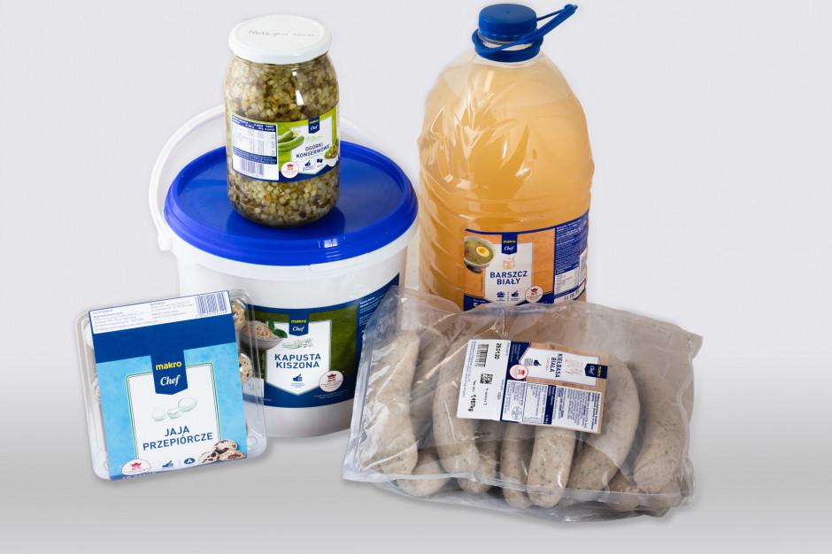 Kolejne produkty marki Makro Chef sygnowane logotypem Polskie Skarby Kulinarne