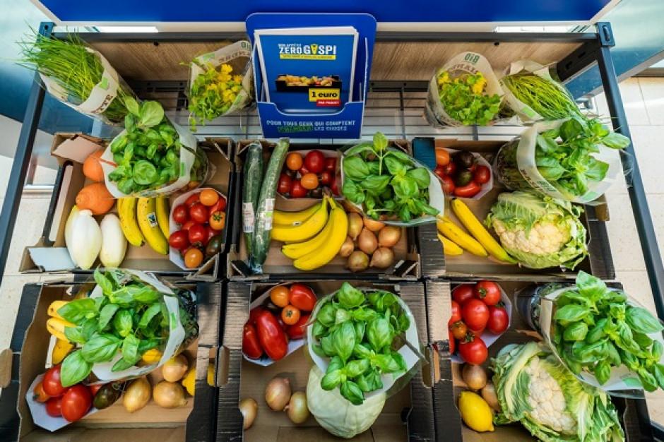 Lidl w Belgii: 1 euro za 3 kg owoców i warzyw z bliskim terminem przydatności