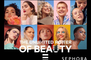 Rusza nowa kampania wizerunkowa Sephora: The Unlimited Power of Beauty