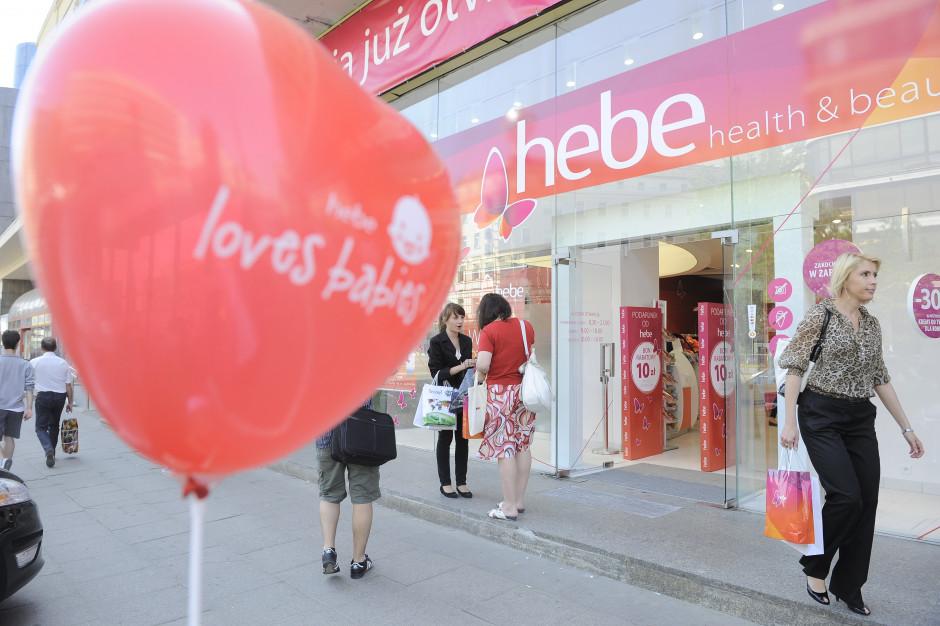 Hebe wchodzi na Słowację i do Czech