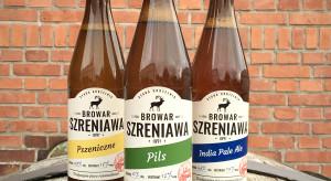Piwa z Browaru Szreniawa na półkach sklepów Duży Ben