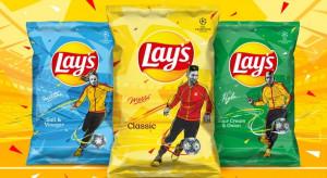 Sławni piłkarze w kampanii reklamowej marki Lay's