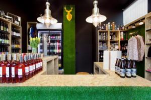 Diznajnerski sklep z piwami kraftowymi w Sopocie