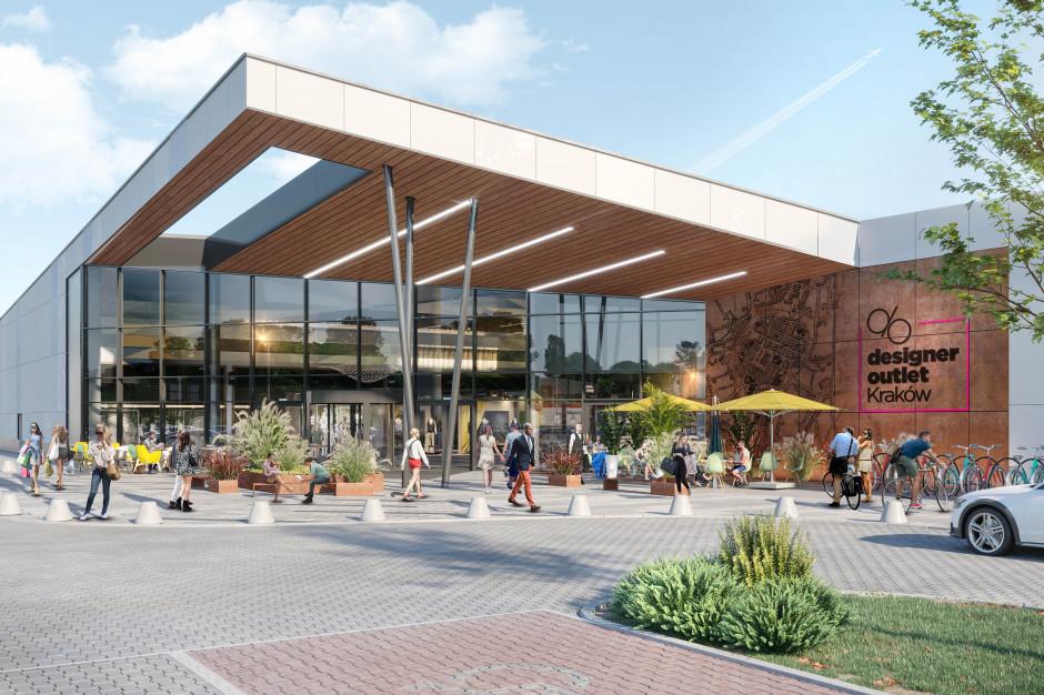 Cracovia Outlet zmieni sie w Designer Outlet Kraków w 2021 roku