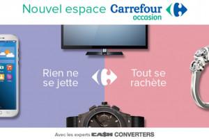 Carrefour Occasion – nowy koncept sklepu z przedmiotami używanymi