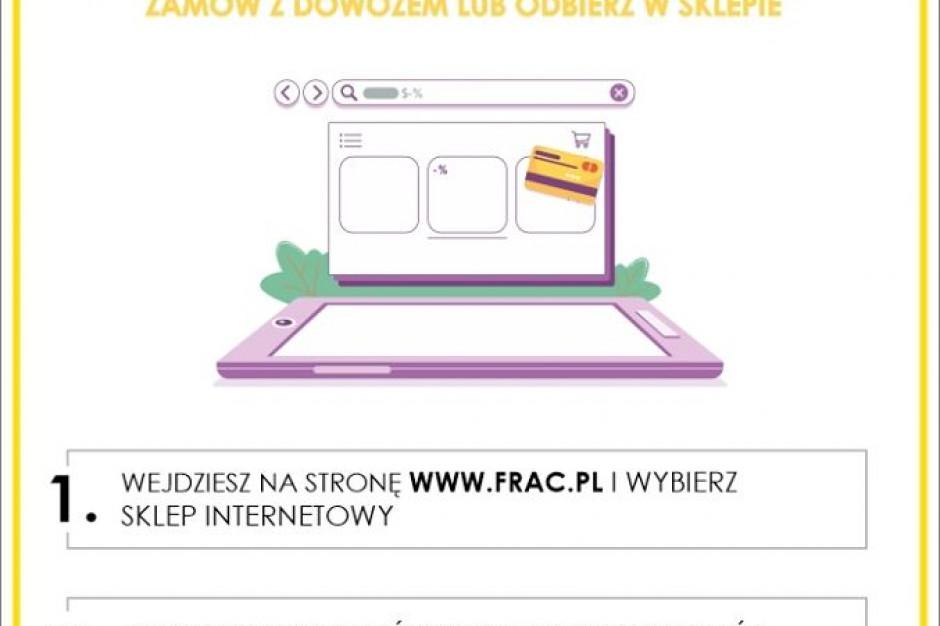 Frac wprowadza zakupy on-line i na telefon