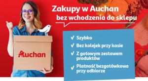 """Auchan wprowadza usługę """"rezerwacja zestawów"""""""