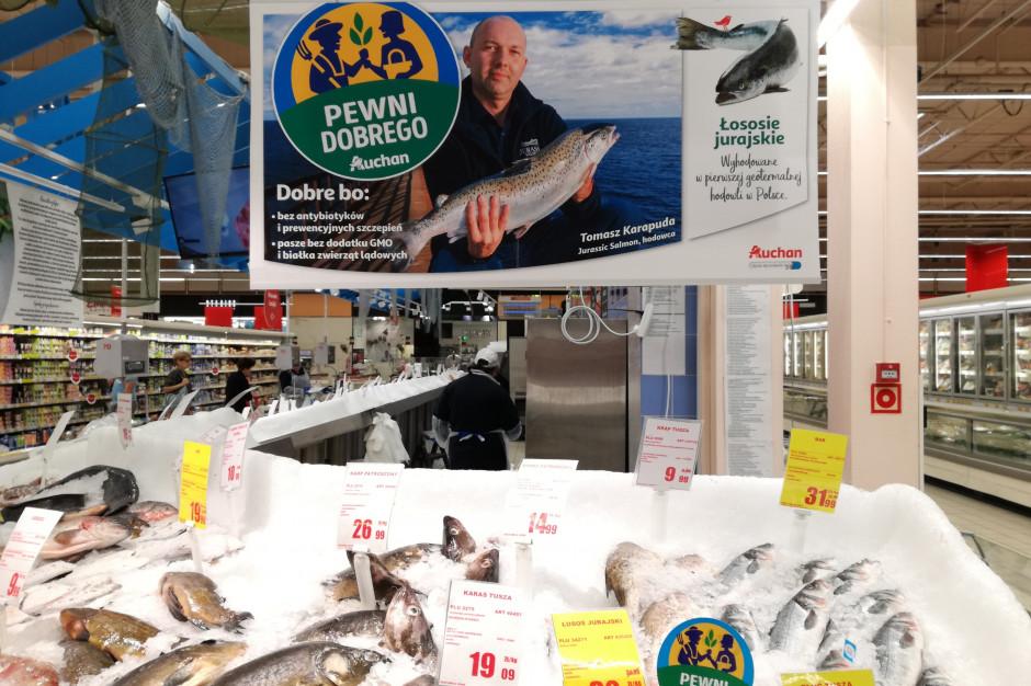 Auchan promuje markę lokalnych produktów Pewni Dobrego