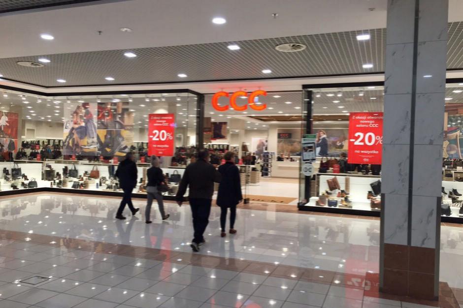 CCC: spadek przychodów o 7 proc. i EBITDA - 125 mln zł