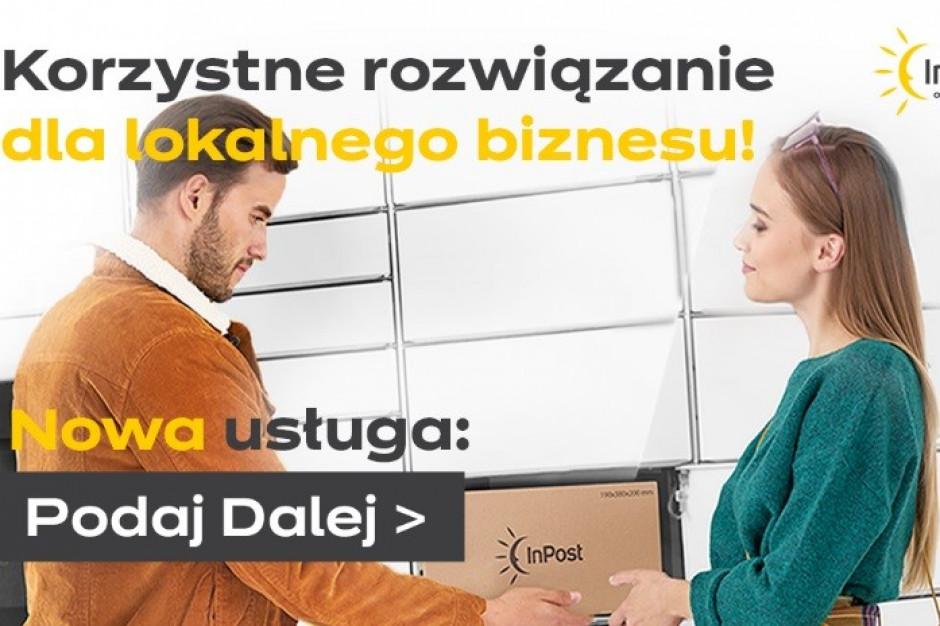 Podaj Dalej - nowa usługa InPostu dla lokalnego biznesu