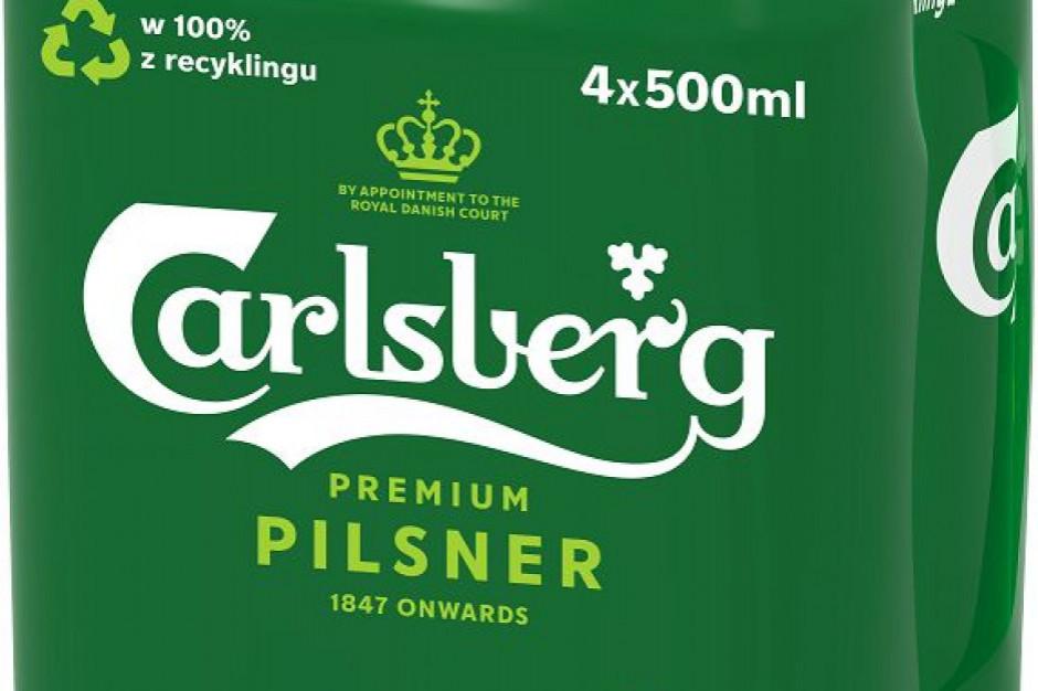Carlsberg zmienia opakowania