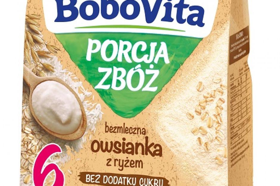 Dwie nowości od BoboVita Porcja Zbóż