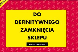 Camaieu zamknie wszytskie sklepy w Polsce