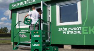 Skup butelek w Poznaniu ponownie otwarty. Limit na klienta 100 sztuk