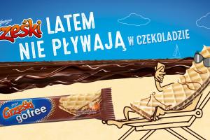 Grześki promują wafle bez czekolady