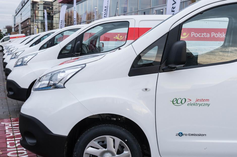 Poczta Polska zadowolona z aut elektrycznych