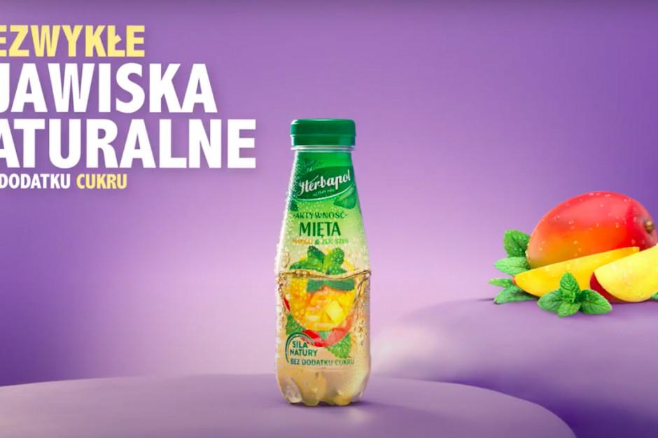 Herbapol Lublin promuje nowe smaki napojów