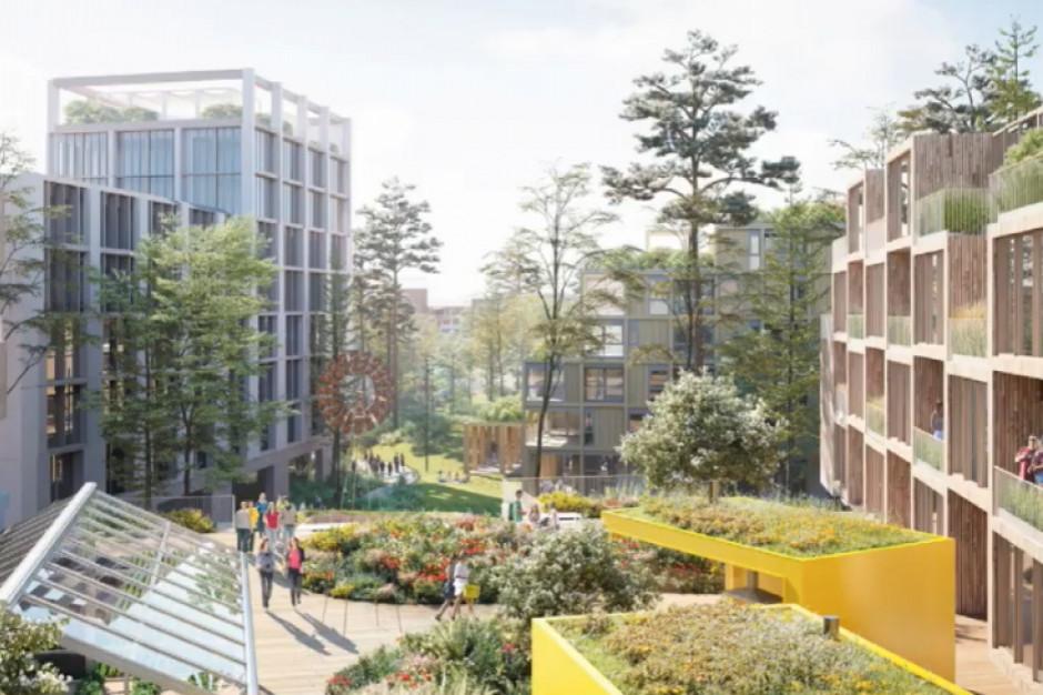 Powstaje nowa dzielnica Katowic, a w niej mieszkania, biura i nowoczesne lokale handlowe