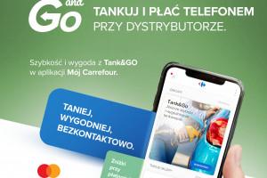 Za paliwo na stacjach Carrefoura zapłacimy przy pomocy aplikacji