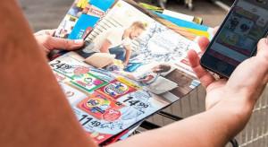 Promocje jogurtów i twarogu w gazetkach handlowych