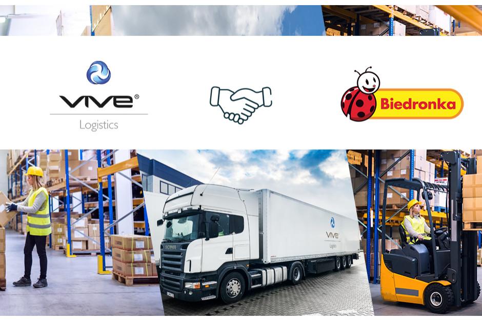 VIVE Logistics z kontraktem na obsługę logistyczną sieci Biedronka