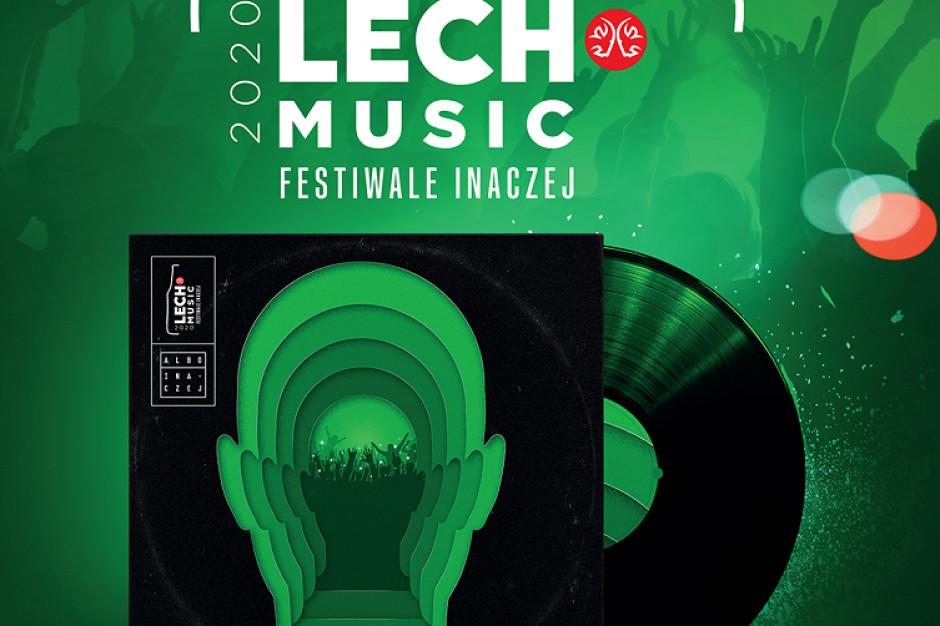 Lech Premium z projektem Lech Music Festiwale Inaczej