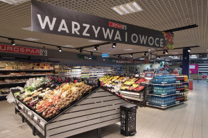 Centrum Handlowe Janki z supermarketem Eurospar. Zastąpił Piotra i Pawła