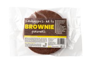 Ciastko brownie od firmy Xawery Miodowy
