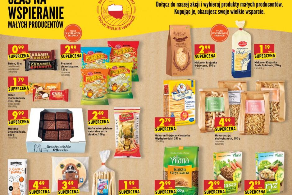 Ponad 500 producentów z całej Polski chce wejść na półki Biedronki