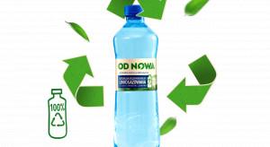 OD NOWA – woda od Żabki w butelce w 100% z recyklingu