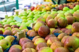 Jabłka droższe od cytrusów