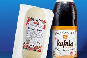 Kofola, Lentilky, knedle - czeskie przysmaki na półkach Aldi