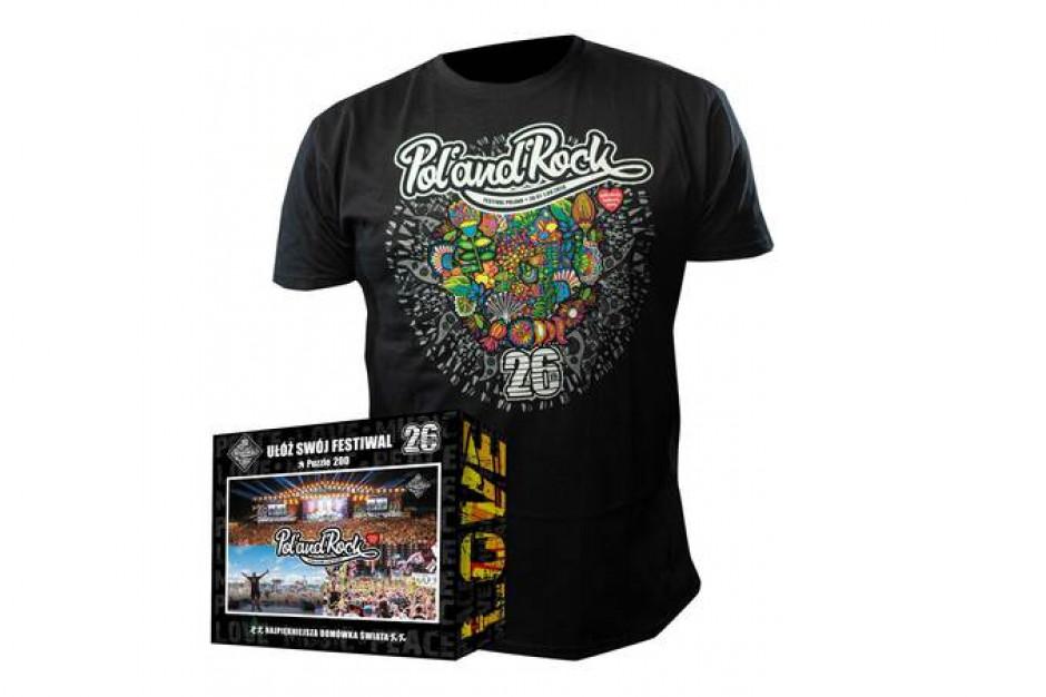 W tym roku nie zrobimy zakupów w rockowym sklepie Lidla, ale możemy kupić gadżety Pol'and'Rock