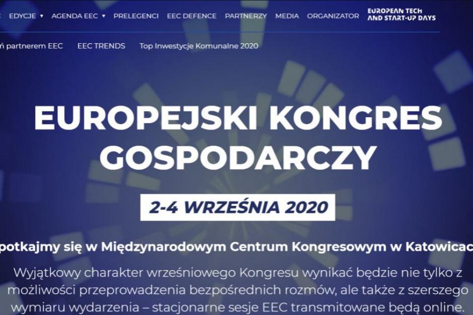 XII Europejski Kongres Gospodarczy 2-4 września 2020 w Katowicach. Ruszyła rejestracja!