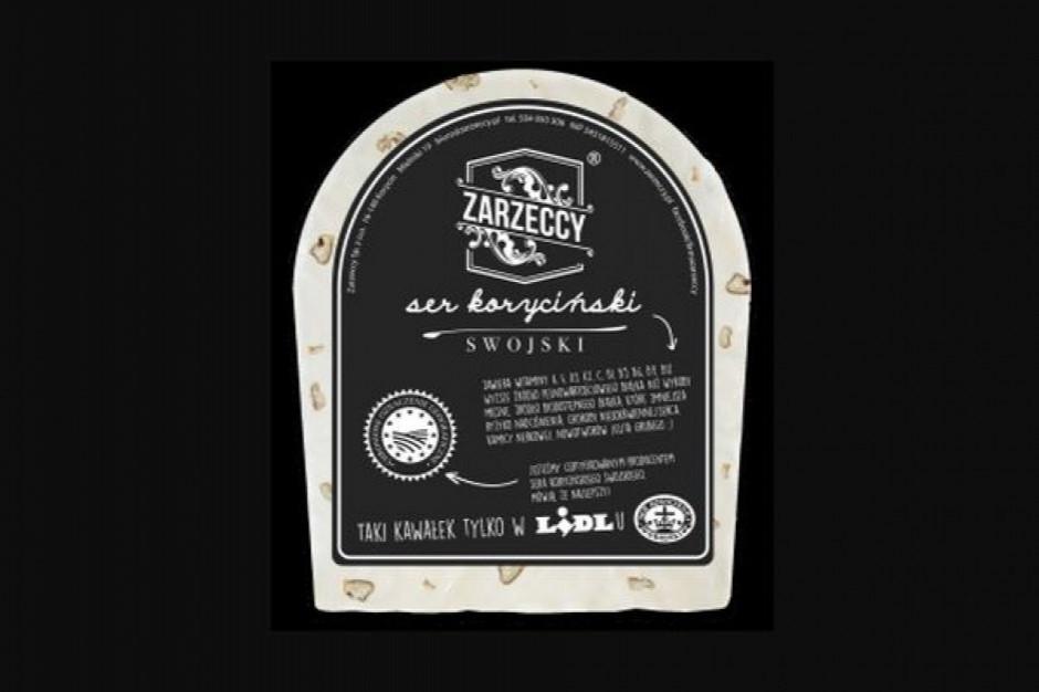 Lidl wycofuje ze sprzedaży ser koryciński