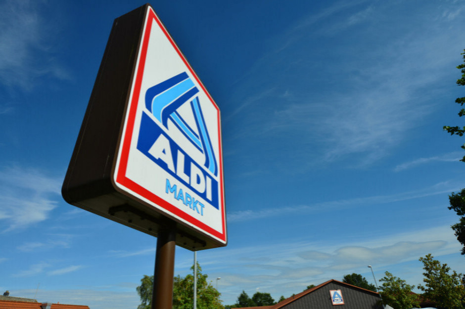 Coraz mniej marki własnej w sklepach Aldi. W Niemczech to 85 proc., a w Polsce 67 proc.