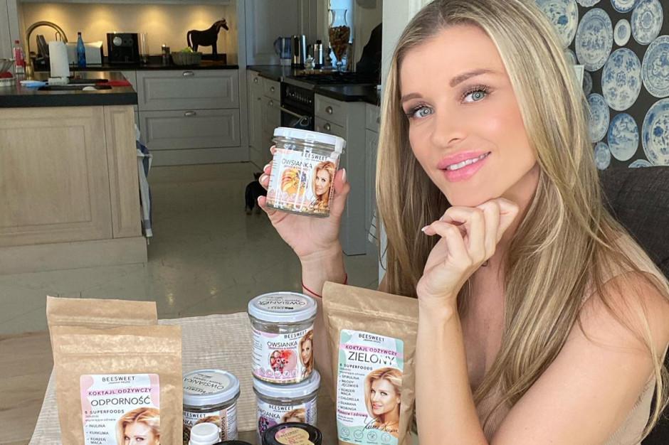 Joanna Krupa śladem Anny Lewandowskiej wprowadza własną markę spożywczą