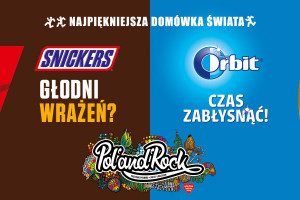 Orbit i Snickers wśród sponsorów 26. Pol'and'Rock Festival