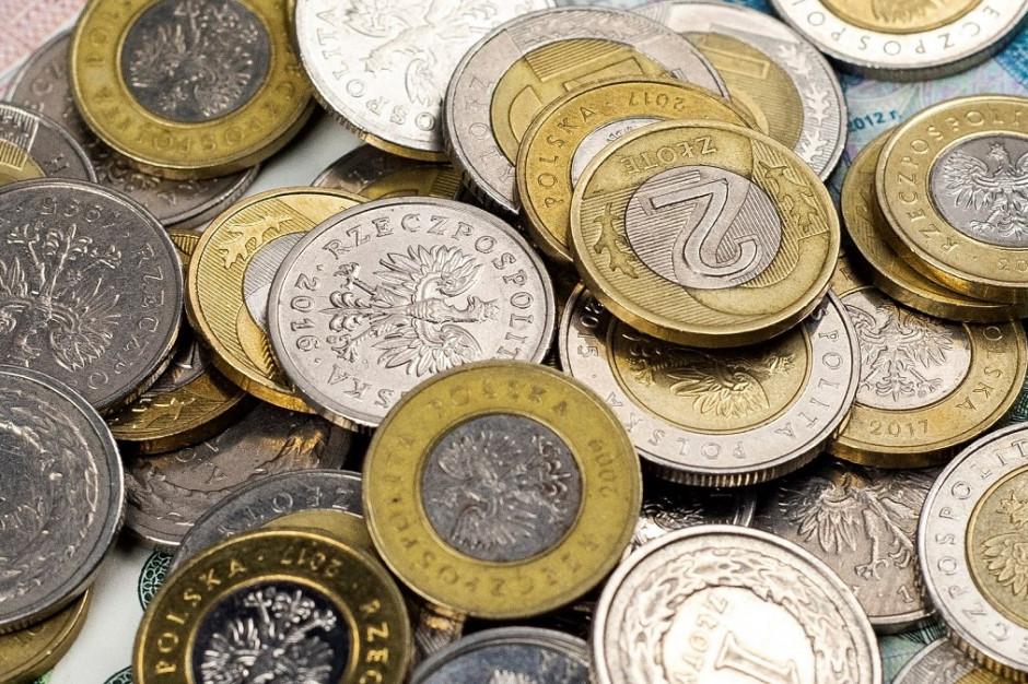 Coraz mniej monet w obiegu