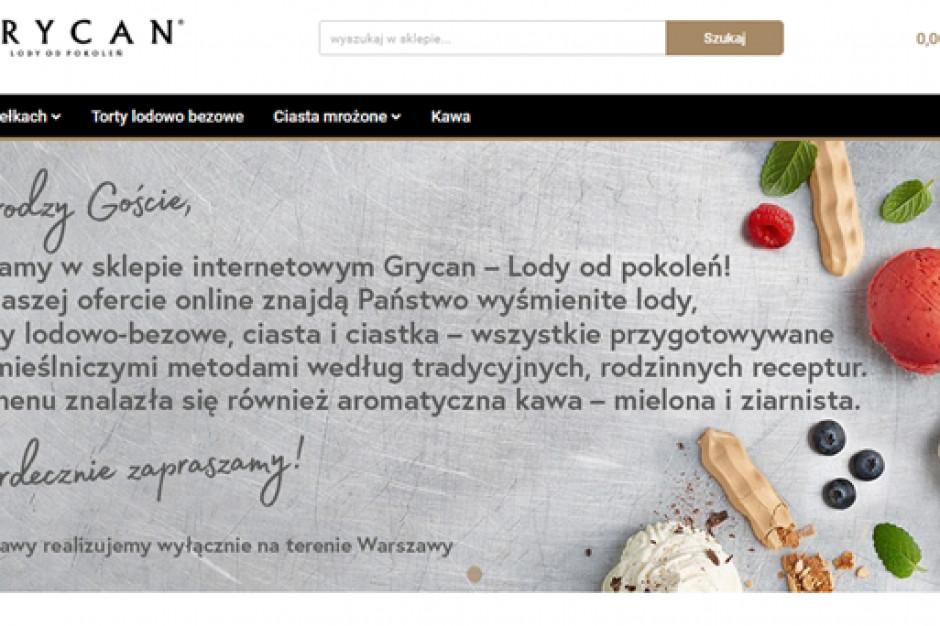 Grycan otworzył sklep internetowy