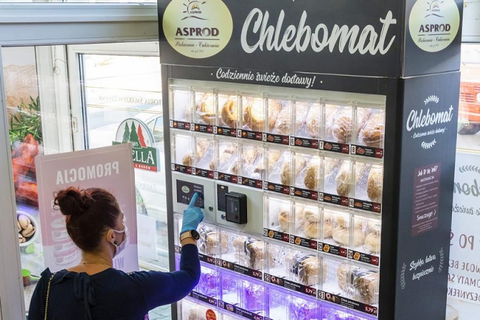 Firma Asprod uruchomiła pierwsze chlebomaty na terenie Szczecina